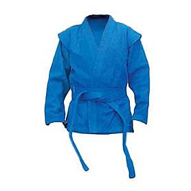 Распродажа*! Куртка для самбо Firuz синяя, размер - 175 см