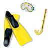 Набор для подводного плавания детский 55956 Intex для девочек - фото 1