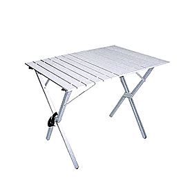 Стол складной с регулируемой высотой Tramp (алюминиевый)