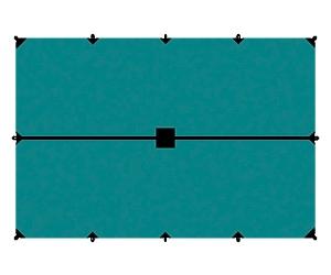 Тент Tramp 4x6 м
