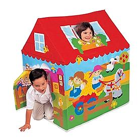 Фото 2 к товару Домик детский Intex 45642 (95x107x75 см)