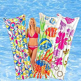 Фото 1 к товару Матрас надувной пляжный Intex 59720 (183х69 см)