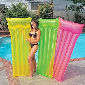 Фото 1 к товару Матрас надувной пляжный Intex 59717 (183х76 см)