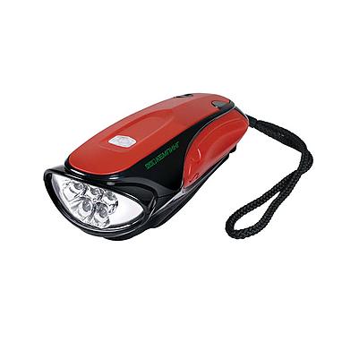 Динамо-фонарь 5 LED Кемпинг