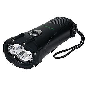 Фото 1 к товару Динамо-фонарь 3 LED Кемпинг