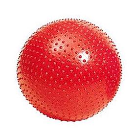 Фото 1 к товару Мяч для фитнеса (фитбол) массажный 55 см Pro Supra