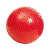 Мяч для фитнеса (фитбол) массажный 75 см Pro Supra красный - фото 1