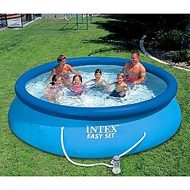Бассейн надувной Intex 56422 (366x76 см) с фильтрующим насосом