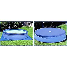 Фото 3 к товару Бассейн надувной Intex 56912 (457x122 см) с фильтрующим насосом и аксессуарами