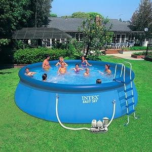 Бассейн надувной Intex 57932 (549x132 см) с фильтр. насосом, хлорогенератором и аксессуарами