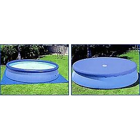 Фото 3 к товару Бассейн надувной Intex 57932 (549x132 см) с фильтр. насосом, хлорогенератором и аксессуарами