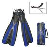 Ласты с открытой пяткой Dolvor F31 синие, размер - 40-42 - фото 1