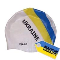 Фото 1 к товару Шапочка для плавания Volna Ukraine Race