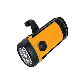 Фото 3 к товару Динамо-фонарь 3 LED Кемпинг SB-1064