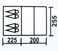 Фото 4 к товару Палатка четырехместная Coleman 3017 (Польша)