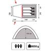 Палатка трехместная кемпинговая Sol Anchor 3 - фото 2