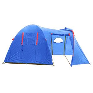 Палатка четырехместная кемпинговая Sol Curochio