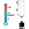 Мешок спальный (спальник) Tramp Balaton левый индиго-черный - фото 2