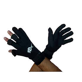 Перчатки для подводной охоты с откидными пальцами Dolvor (неопрен 3 мм)