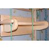 Спортивный уголок 210 см с турничком (брусьями) и доской для пресса 694-449 - фото 2