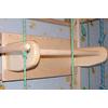 Спортивный уголок 240 см с турничком (брусьями) и доской для пресса 664-383 - фото 3
