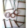 Веревочный комплект для шведской стенки или гладиаторской сетки Ирель - фото 1
