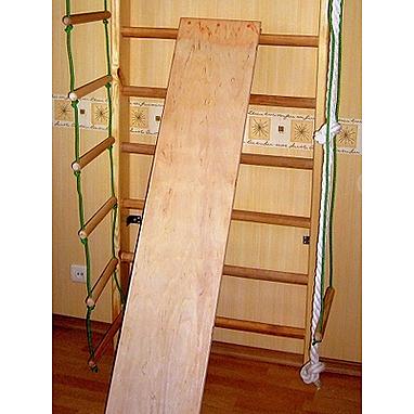 Доска для спины и пресса 152 см (детская) к шведской стенке Ирель
