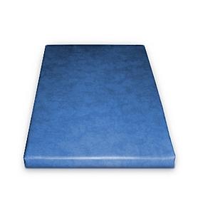 Мат гимнастический 80х120х10 см (светло-синий)