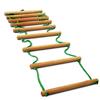 Лестница для шведской стенки веревочная Ирель - фото 1