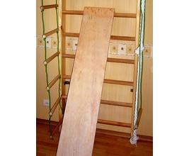 Фото 3 к товару Спортивный уголок 210 см с брусьями (до 100 кг) и доской из бука