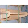 Спортивный уголок 240 см с турничком, брусьями (до 100 кг) и доской из бука - фото 3
