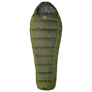 Мешок спальный (спальник) трёхсезонный Pinguin Trekking R PNG 2115 правый зеленый