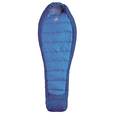 Мешок спальный (спальник) трёхсезонный Pinguin Mistral R PNG 2106 правый синий