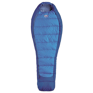 Мешок спальный (спальник) трёхсезонный Pinguin Mistral L PNG 2106 левый синий