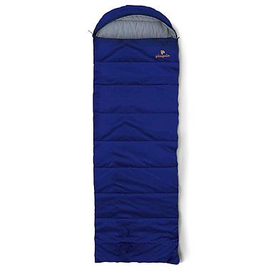 Мешок спальный (спальник) летний Pinguin Safari левый синий