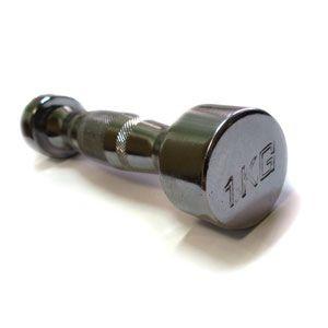 Гантели хромированные ZLT 2 шт по 1 кг