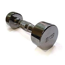 Гантели хромированные ZLT 2 шт по 2 кг