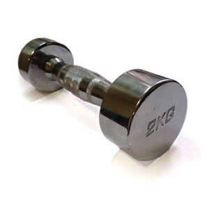 Гантели хромированные ZLT 2 шт по 4 кг