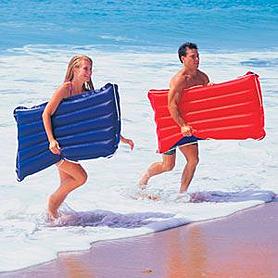 Фото 2 к товару Матрас надувной пляжный Intex 59194 (114х74 см)