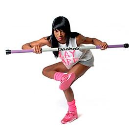 Фото 2 к товару Палка гимнастическая (бодибар) 3 - 7 кг Body Bar Reebok