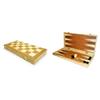 Шахматы-нарды деревяные - фото 1