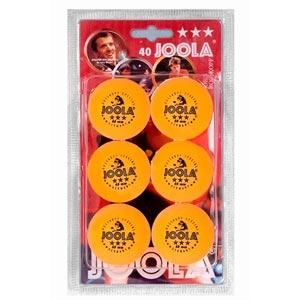 Набор мячей для настольного тенниса Joola Rossi желтые ***