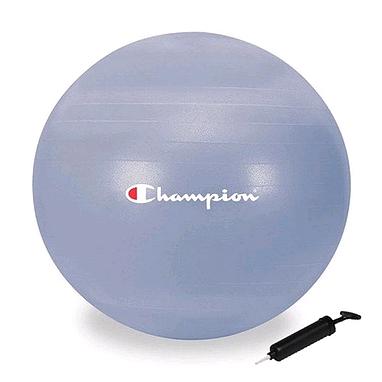 Мяч для фитнеса (фитбол) с системой антиразрыв 75 см Diadora Champion