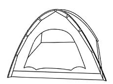 Фото 2 к товару Распродажа*! Палатка двухместная Kilimanjaro SS-06т-032