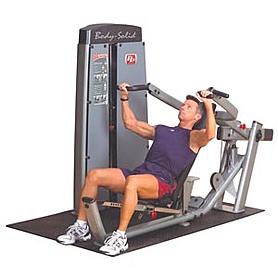 Тренажер для жима лежа/жима под наклоном/жима для дельтовидных мышц Body Solid DPRS-SF