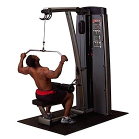 Фото 1 к товару Тренажер для тяги сверху/ тяги на себя Body Solid DLAT-SF
