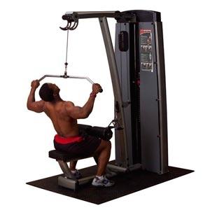 Тренажер для тяги сверху/ тяги на себя Body Solid DLAT-SF