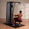 Тренажер для тяги сверху/ тяги на себя Body Solid DLAT-SF - фото 2
