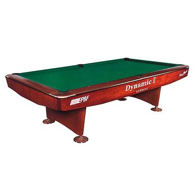Стол бильярдный Dynamic II 9 футов коричневый
