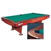 Стол бильярдный Dynamic II 9 футов коричневый + комплект для игры - фото 1